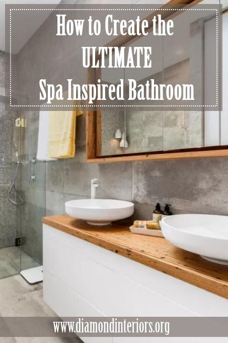Spa inspired bathroom ideas