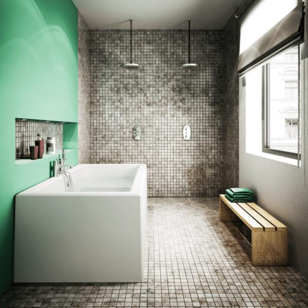 large bathroom wet room design