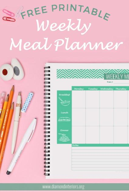 Meal planner download