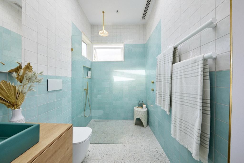 Terrazzo tiles bathroom