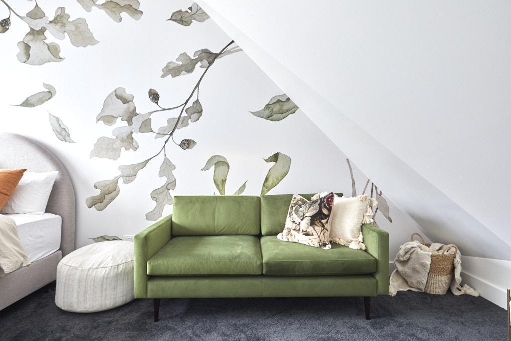 Harry & Tash The Block 2020 - Bedroomm Decorating