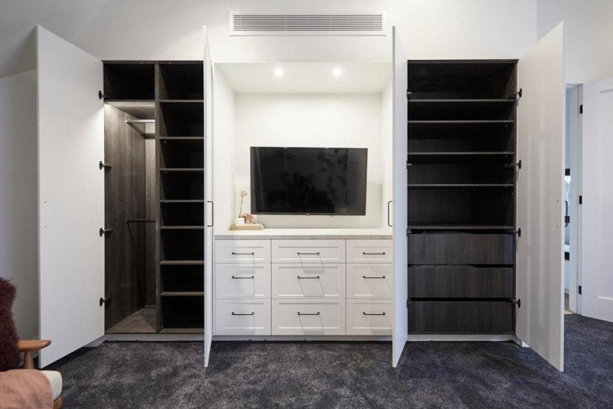 Harry & Tash The Block 2020 - Bedroom Wardrobe