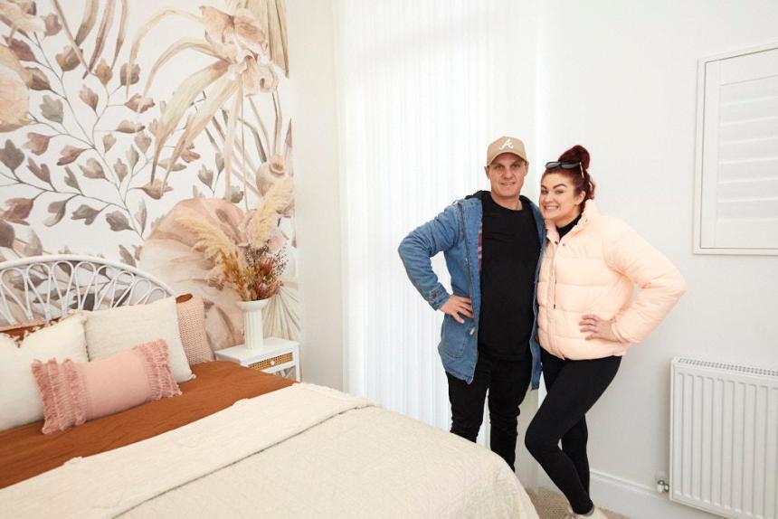 Jimmy & Tam The Block 2020 - Guest Bedroom Design
