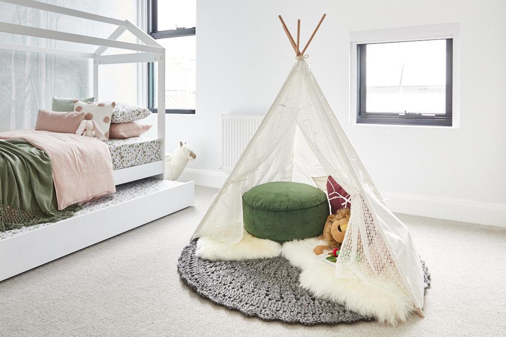 Sarah & George The Block 2020 - Bedroom Decorating