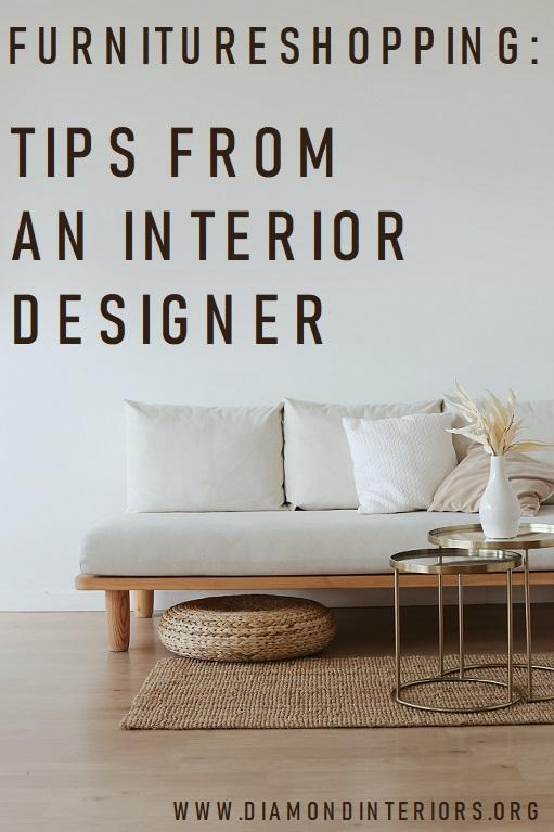 FURNITURE SHOPPING TIPS