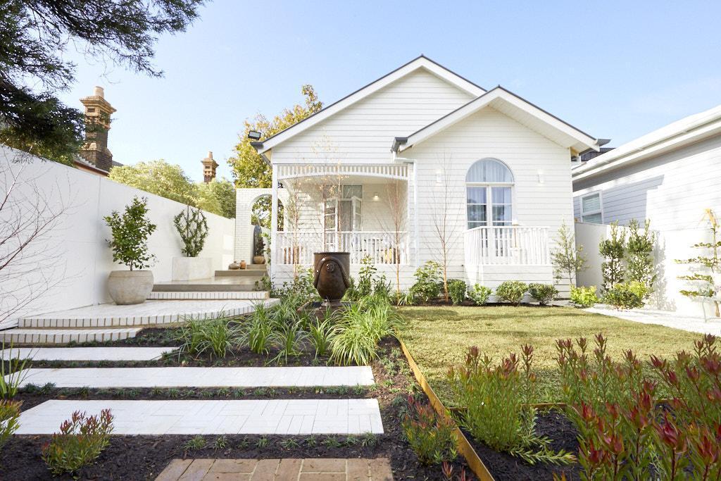 The Block 2020 - Front Garden