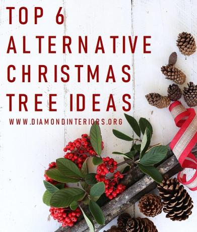 Top 6 Alternative Christmas Tree Ideas
