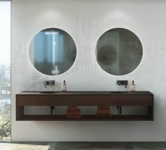 Corain Bathroom Wall Panels