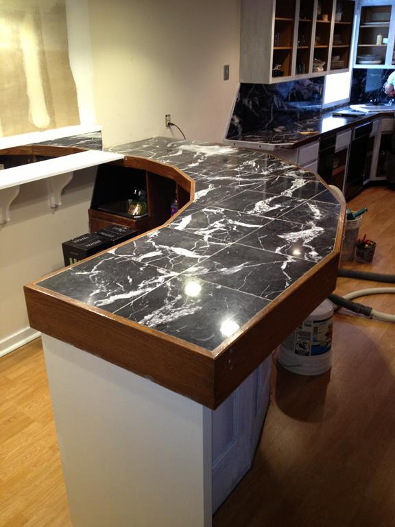 epoxy flooring kitchen industrial kitchens countertop gallery - diamond kote decorative concrete ...