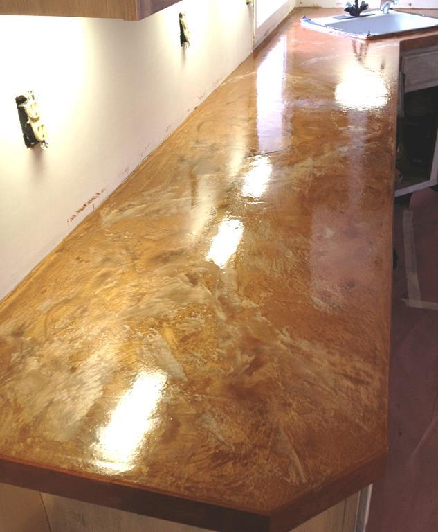 Countertop Gallery  Diamond Kote Decorative Concrete Resurfacing and Epoxy Floors