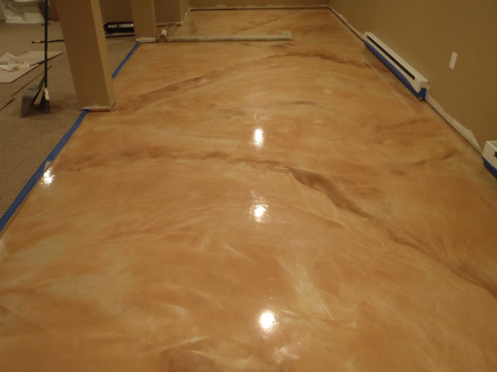 Metallic Epoxy Marble Vein Metallic Epoxy Floor  Diamond