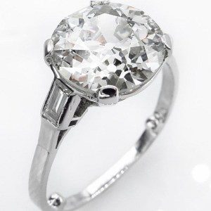 2.25Ct Excellent Round Cut Diamond Solitaire Engagement Ring 925 Sterling Silver