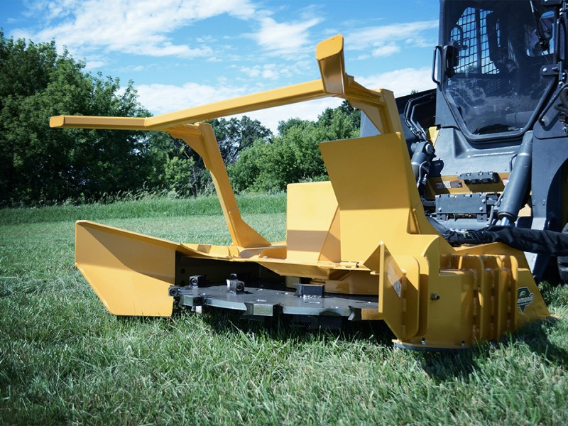 Skid Steer Forestry Disc Mulcher Diamond Mowers Australia