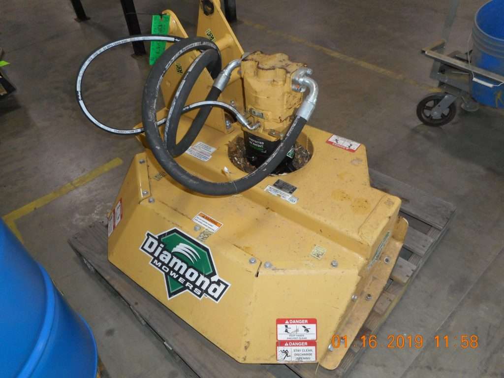 Boom Forestry Brush Cutter