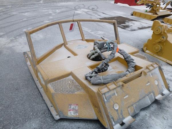 skid-steer rotary mower