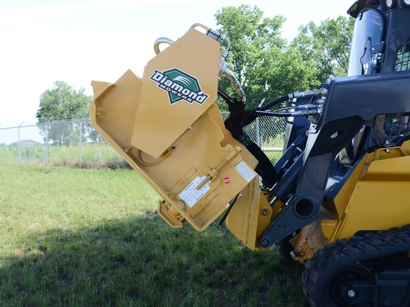 Skid Steer Flail Mower Attachment