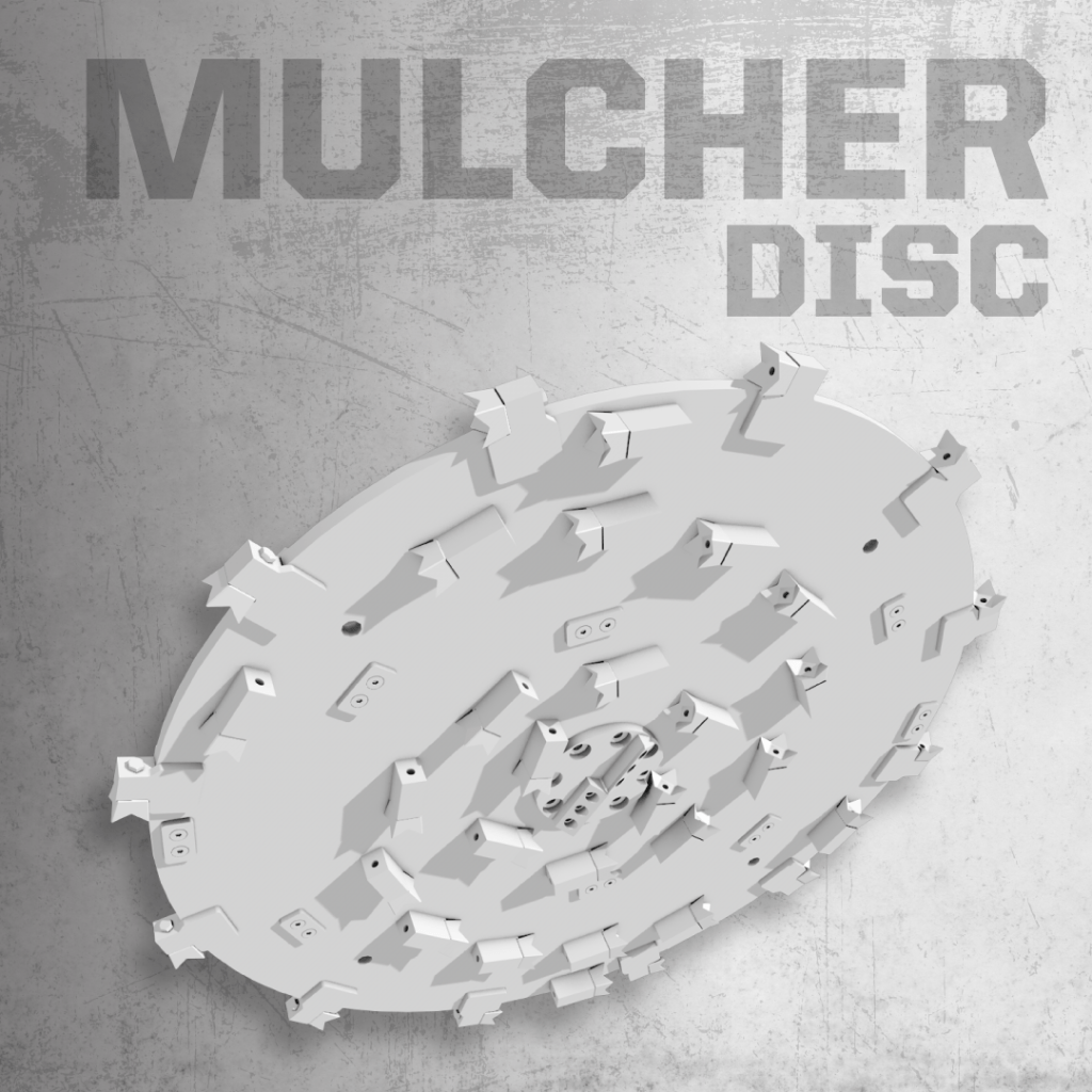 Forestry Mulcher Disc