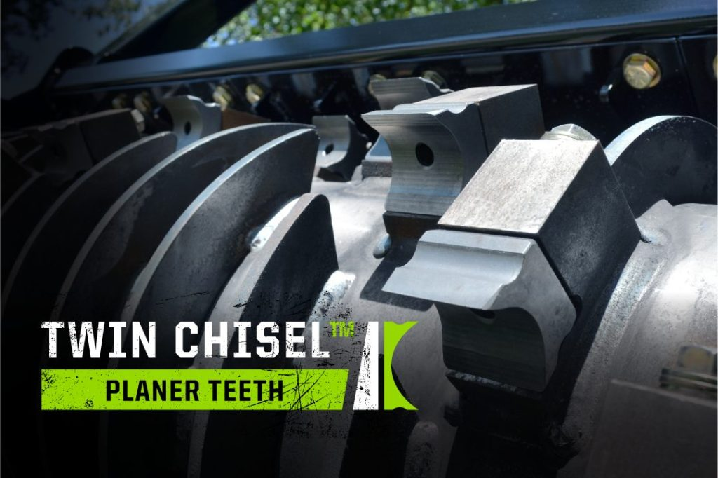Twin Chisel Planer Teeth