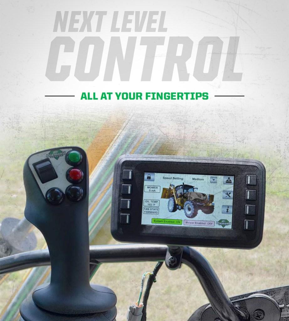 IBC - Boom Mower Controls