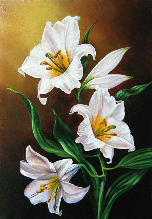 Как рисовать цветы  razumnikiru