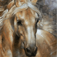Horse Portrait Diamond Painting Kit