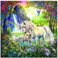 Unicorn Rainbow Diamond Painting Kit