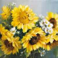 Sunflower Bouquet Diamond Painting Kit