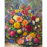 Ultimate Flower Bouquet Diamond Painting Kit