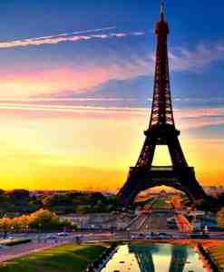 Diamond Painting Parijs bij nacht - 30x40 CM - Volledig - SEOS Shop ®
