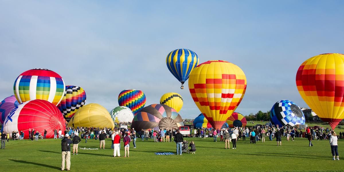 Hot Air Balloon Festival Fun