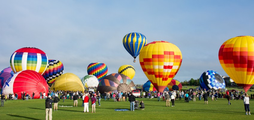 Hot Air Balloon Festival Fun