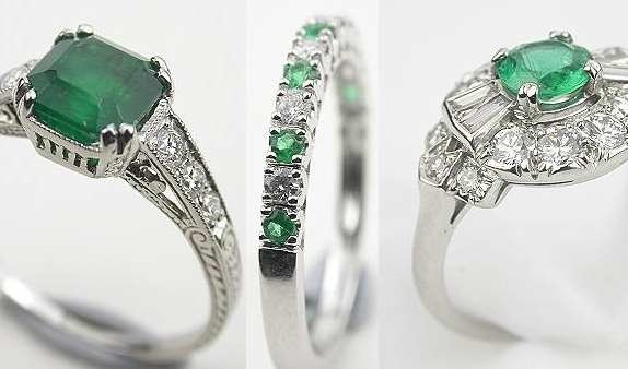 Emerald Rings For Those Precious Occasions Black Diamond