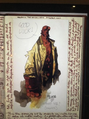 First rendition of Hellboy