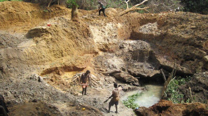 リベリアダイヤモンド鉱山