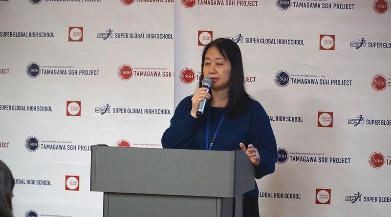 玉川学園高等部グローバルキャリア講座講演