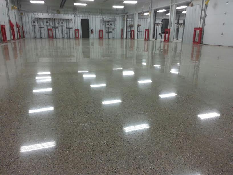 Commercial Concrete Polishing Contractors Washtenaw County, Mi.