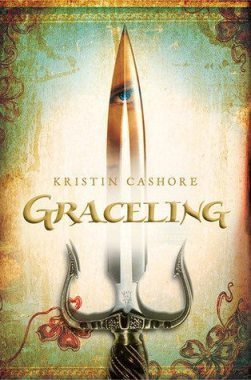 Graceling (Graceling Realm #1) by Kristin Cashore. Via Diamonds in the Library.