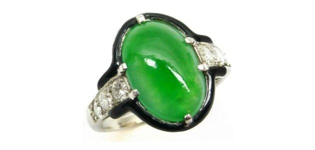 ring heirloom engagement nephrite il jade listing diamond aaa grade