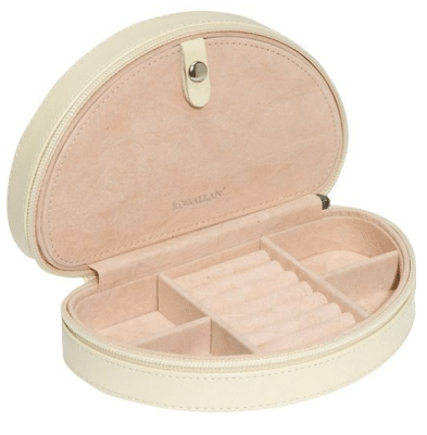 Jewelry travel storage case options: the Alice jewelry keep by Rowallan. Via Diamonds in the Library.
