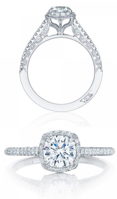 A lovely diamond engagement ring by Tacori