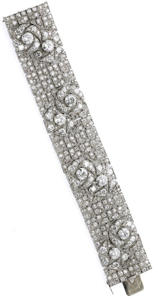 carat bracelet platinum p art diamond htm deco