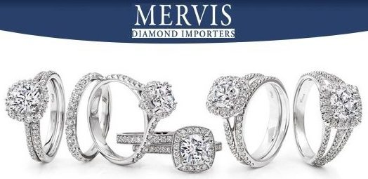 Store profile and review of Mervis Diamond Importers on Diamonds in the Library.
