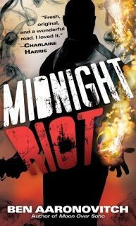 Midnight Riot by Ben Aaronovitch. A fabulously dark and hilarious fantasy crime novel. Click through for full review. Via Diamonds in the Library.