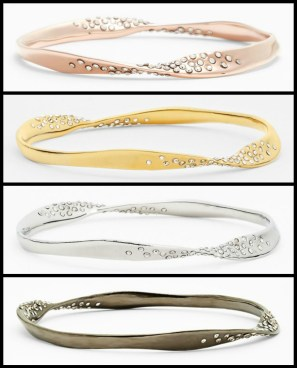 Alexis Bittar 'Miss Havisham - Bel Air' Twisted Bangle. Via Diamonds in the Library's jewelry gift guide.