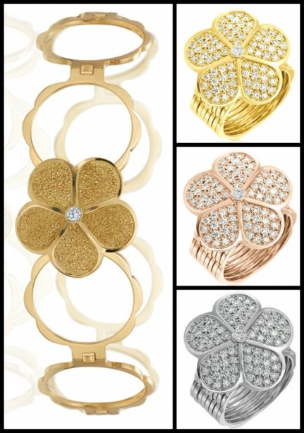 """Gumuchian """"The Ring Cycle"""" convertible bracelet/ring. Via Diamonds in the Library's jewelry gift guide."""