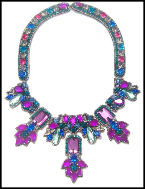 Suzanna Dai Fireworks Long Necklace. Via Diamonds in the Library's jewelry gift guide.