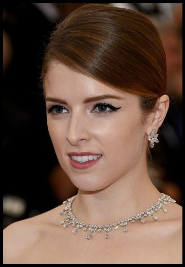 Anna Kendrick in diamonds at the 2014 Met Gala.