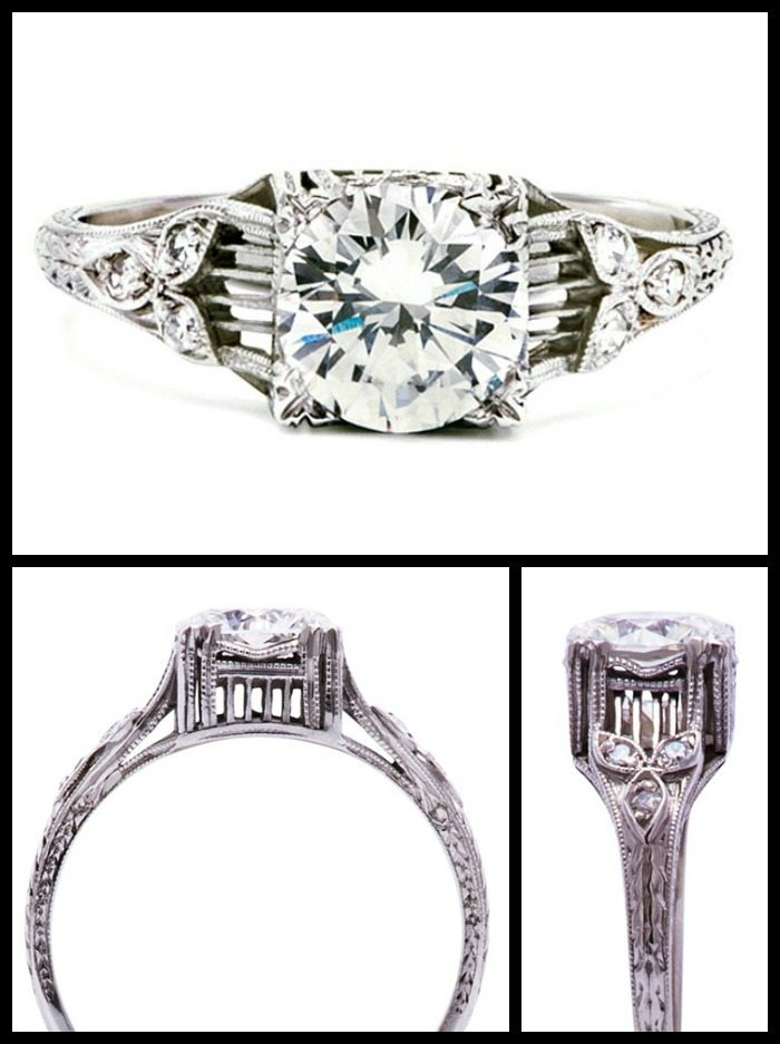 Ring roundup: random antique beauties  | Diamonds in the Library