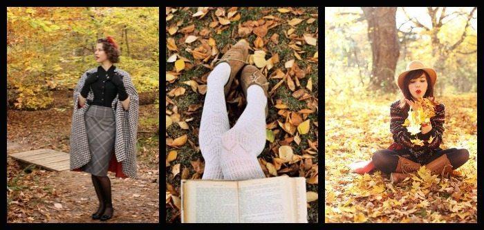 Fall break three fabulous autumnal ladies.
