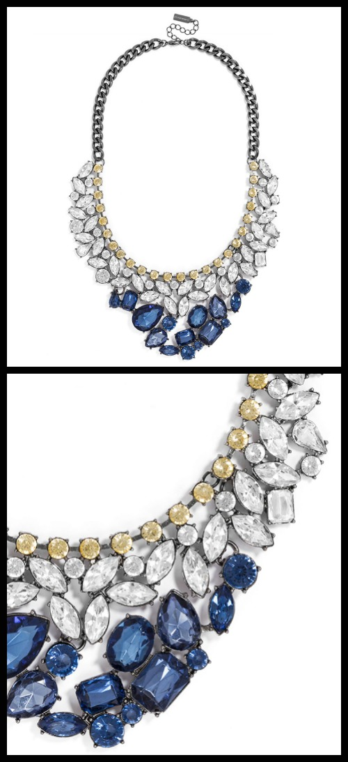 The Heartbreaker Bib necklace from BaubleBar.